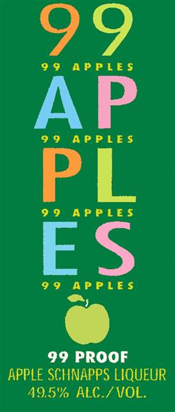 99 APPLES APPLE LIQUEUR