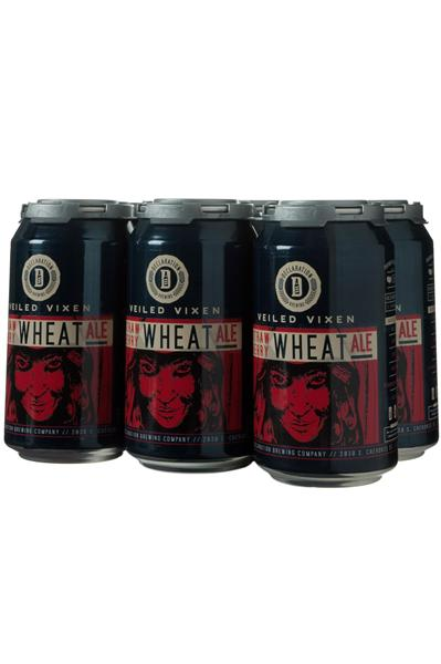 DECLARATION BREWING 6PKC VEILED VIXEN STRAWBERRY WHEAT ALE