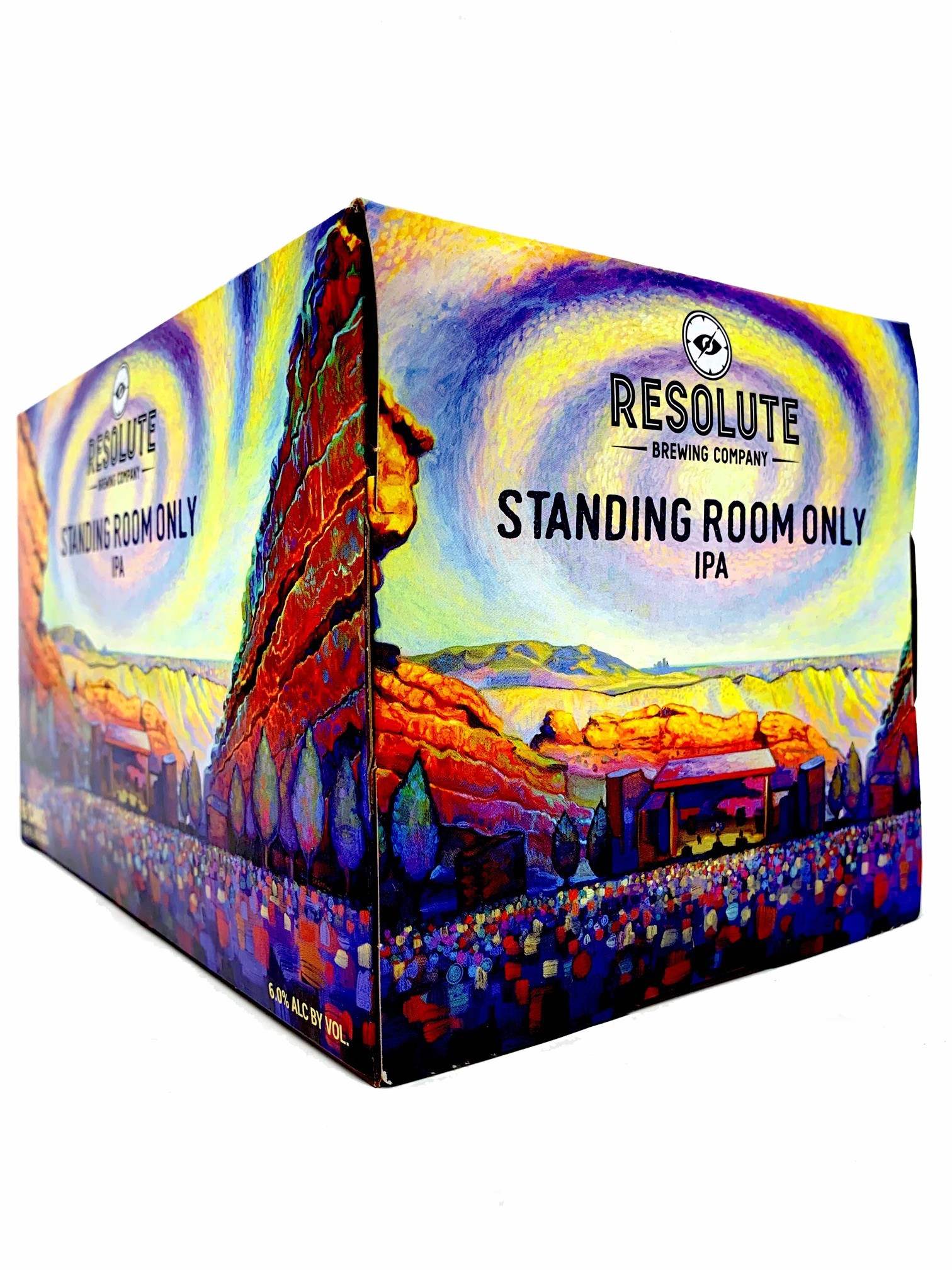 RESOLUTE BREWING 6PKC STANDING ROOM ONLY IPA